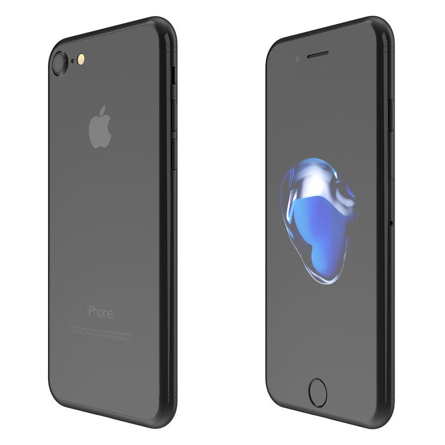 Apple iPhone 7 todos los colores royalty-free modelo 3d - Preview no. 12