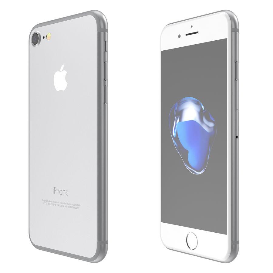 Apple iPhone 7 todos los colores royalty-free modelo 3d - Preview no. 4