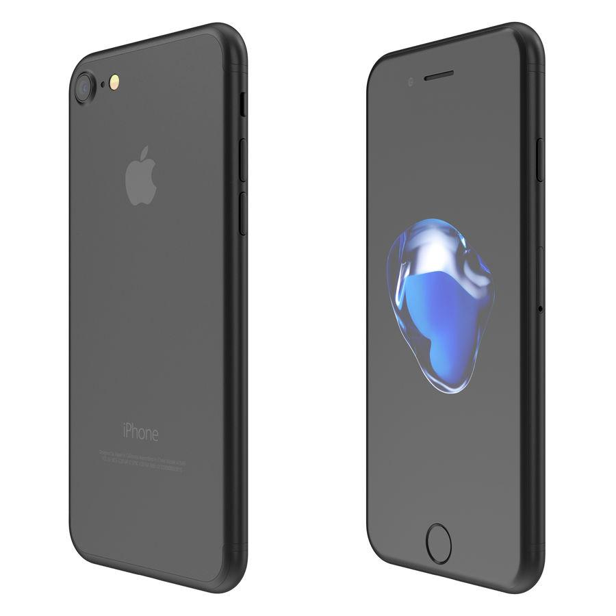 Apple iPhone 7 todos los colores royalty-free modelo 3d - Preview no. 10