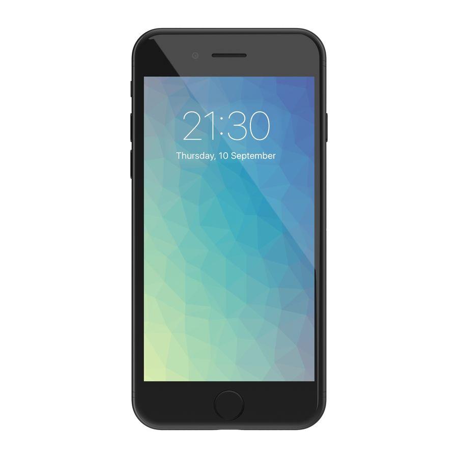 Apple iPhone 7 todos los colores royalty-free modelo 3d - Preview no. 16