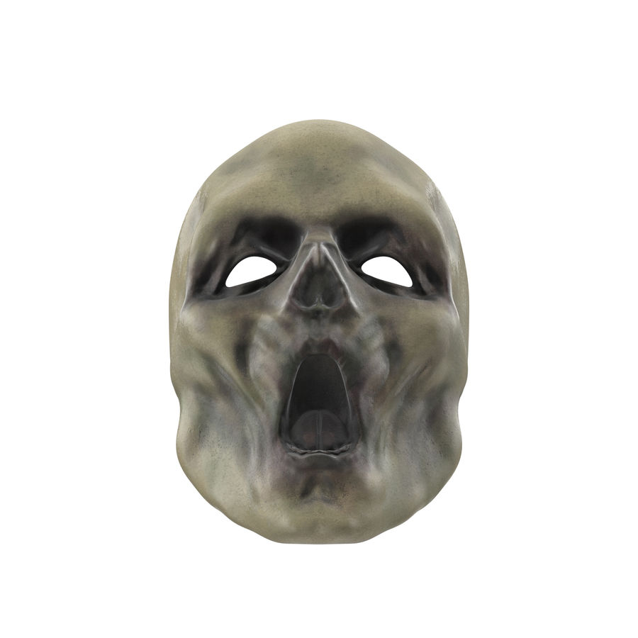 Dead Man Mask royalty-free 3d model - Preview no. 4