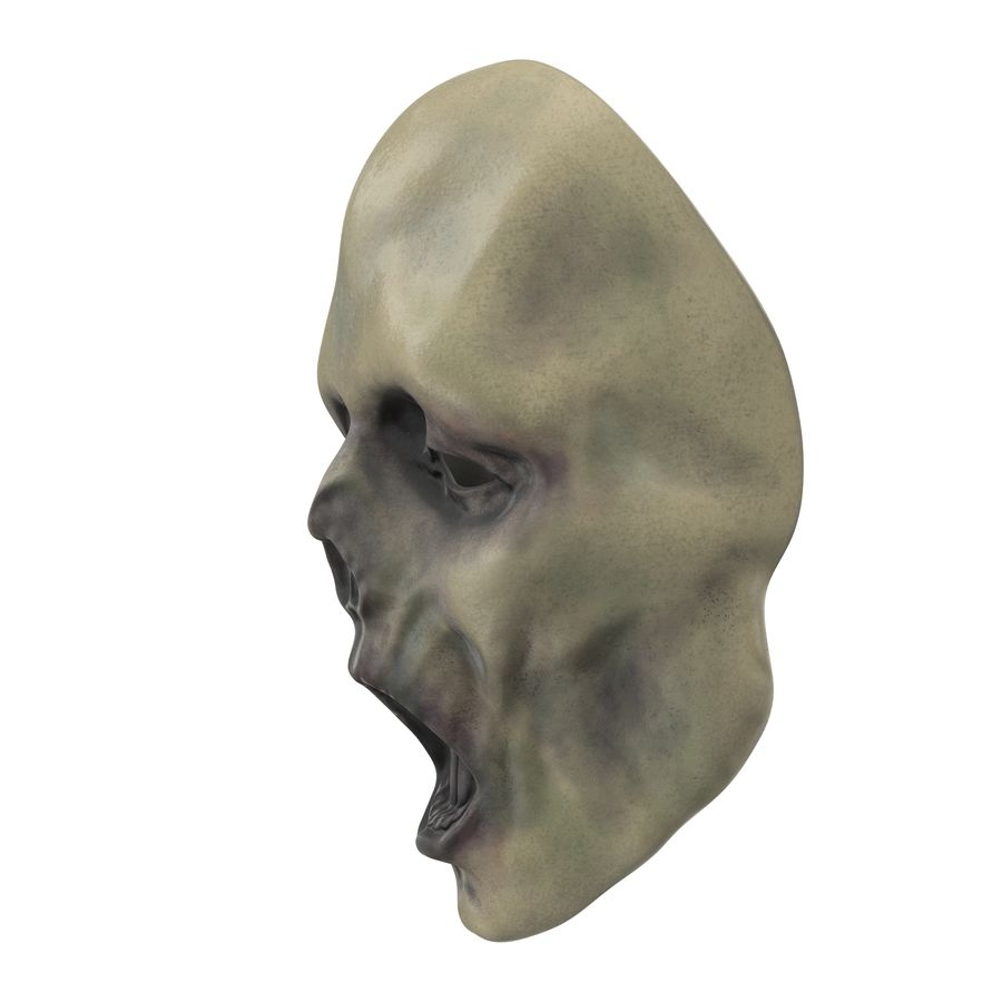 Dead Man Mask royalty-free 3d model - Preview no. 10