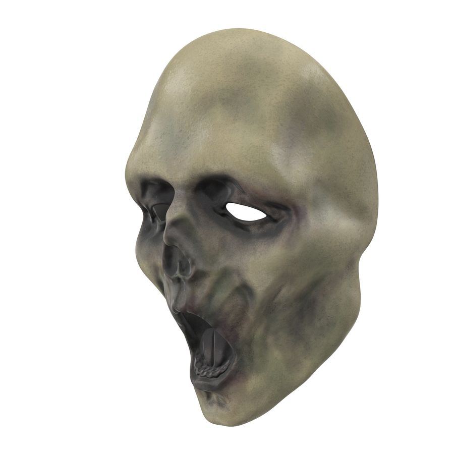 Dead Man Mask royalty-free 3d model - Preview no. 11