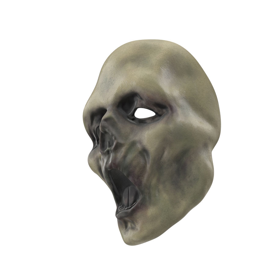 Dead Man Mask royalty-free 3d model - Preview no. 6