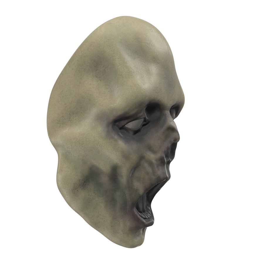 Dead Man Mask royalty-free 3d model - Preview no. 7