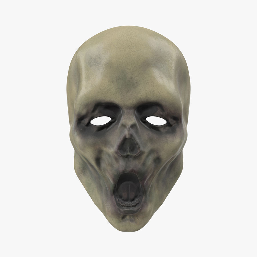 Dead Man Mask royalty-free 3d model - Preview no. 1