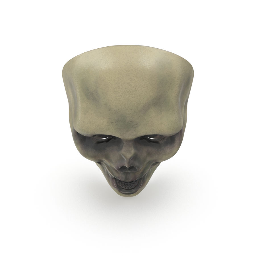 Dead Man Mask royalty-free 3d model - Preview no. 3