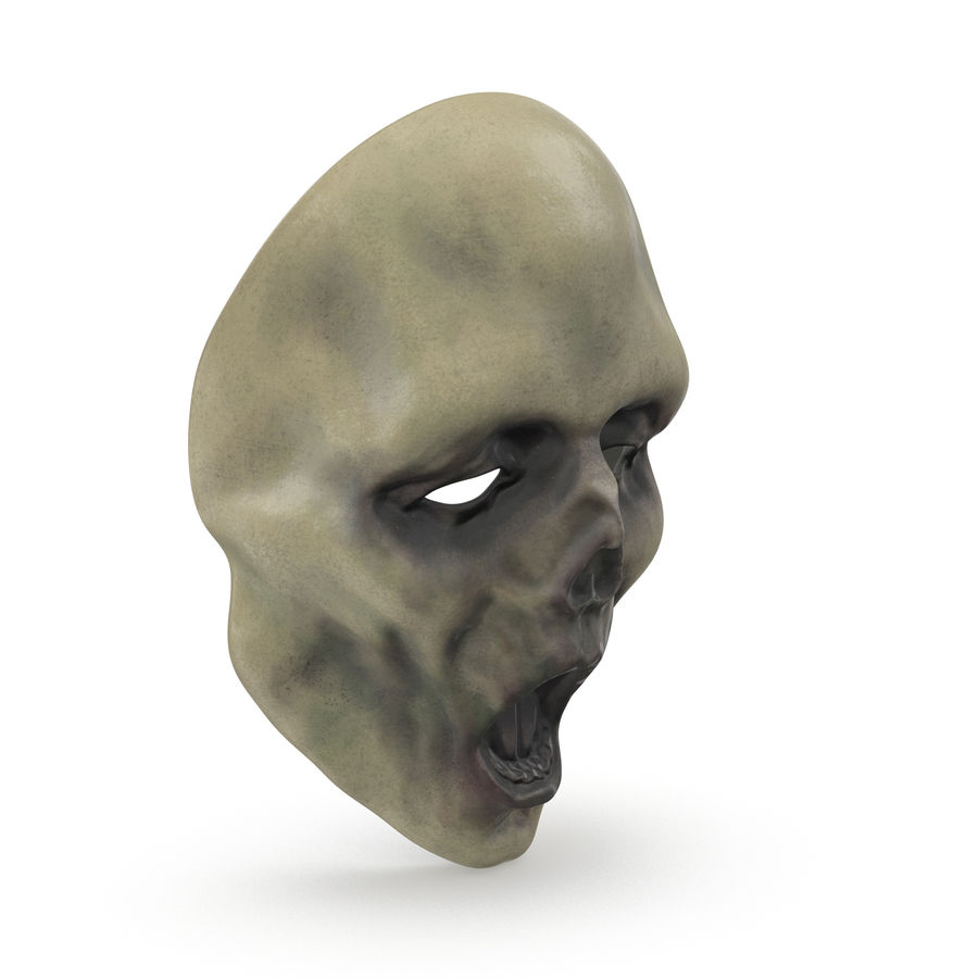 Dead Man Mask royalty-free 3d model - Preview no. 5