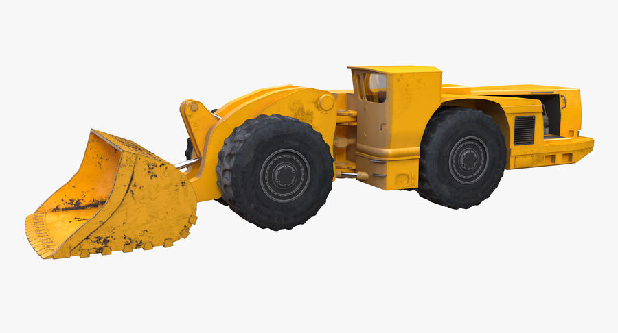 Underground Loader royalty-free 3d model - Preview no. 3