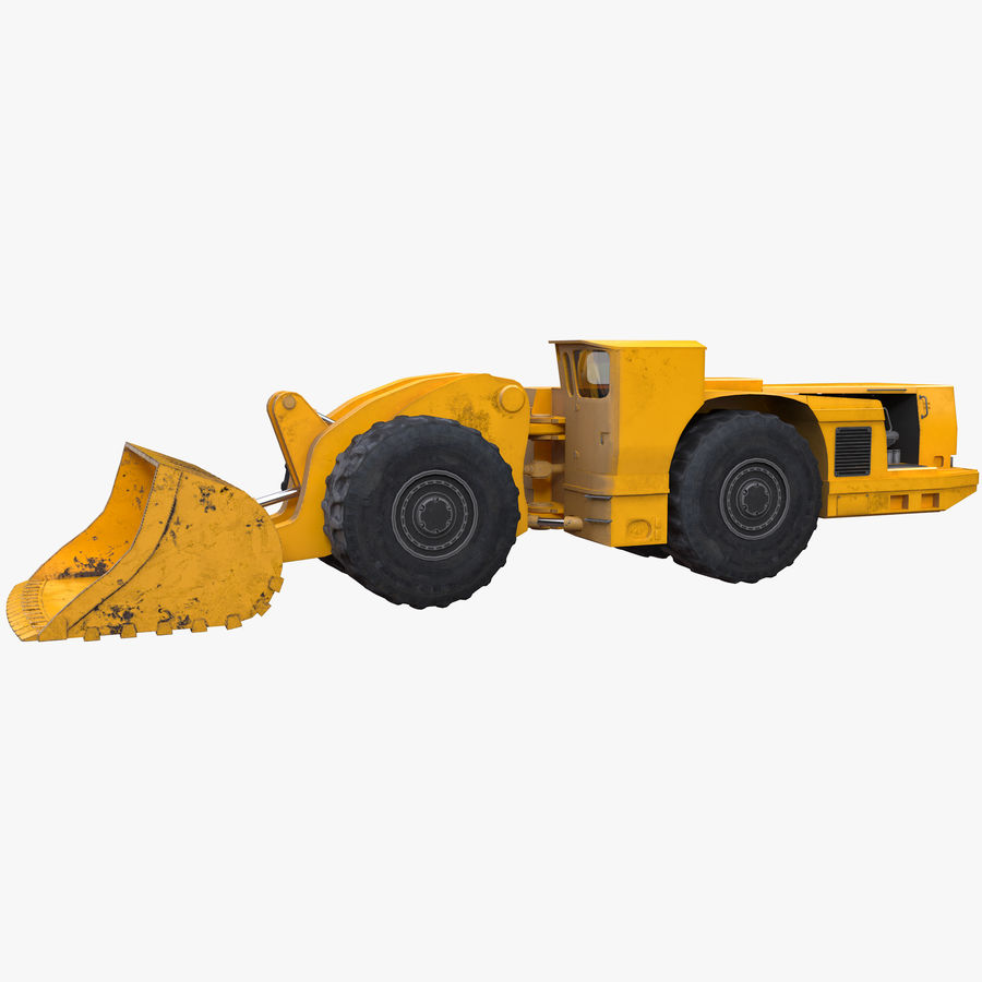 Underground Loader royalty-free 3d model - Preview no. 1