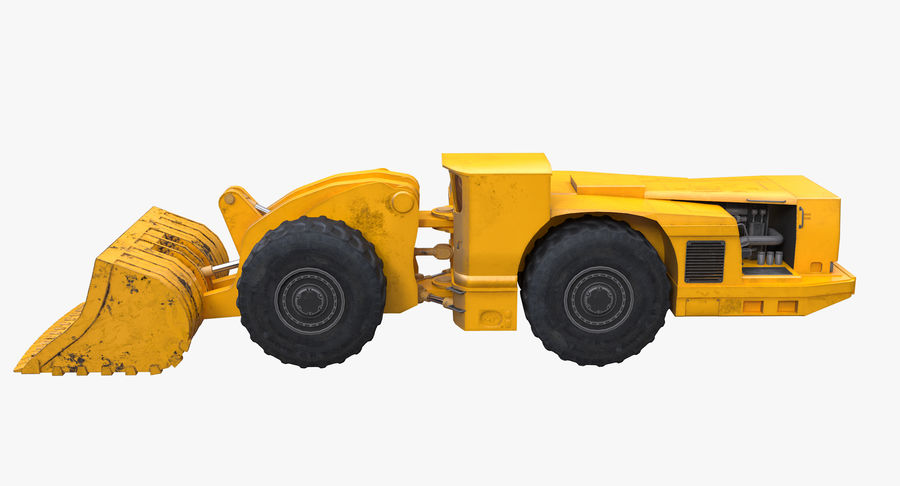 Underground Loader royalty-free 3d model - Preview no. 4