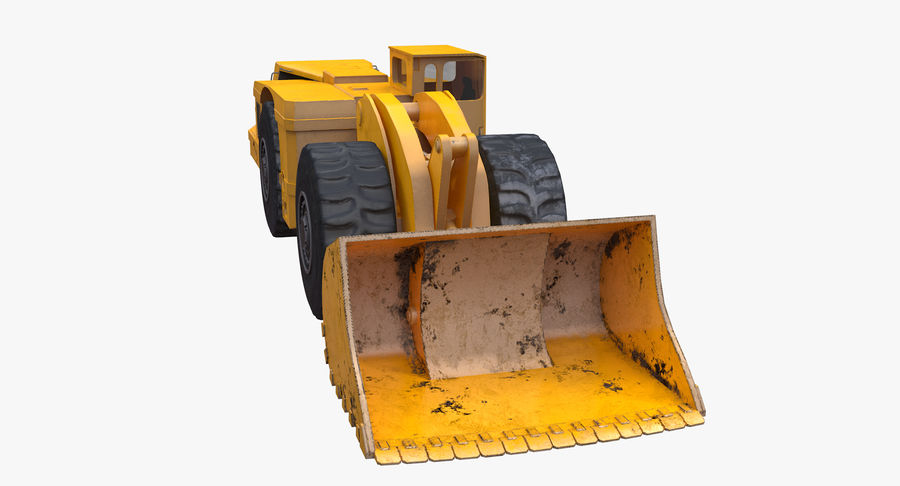 Underground Loader royalty-free 3d model - Preview no. 9