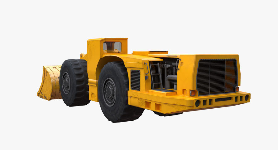 Underground Loader royalty-free 3d model - Preview no. 5