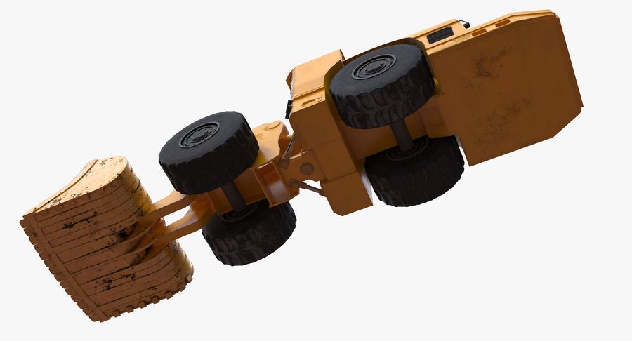 Underground Loader royalty-free 3d model - Preview no. 10