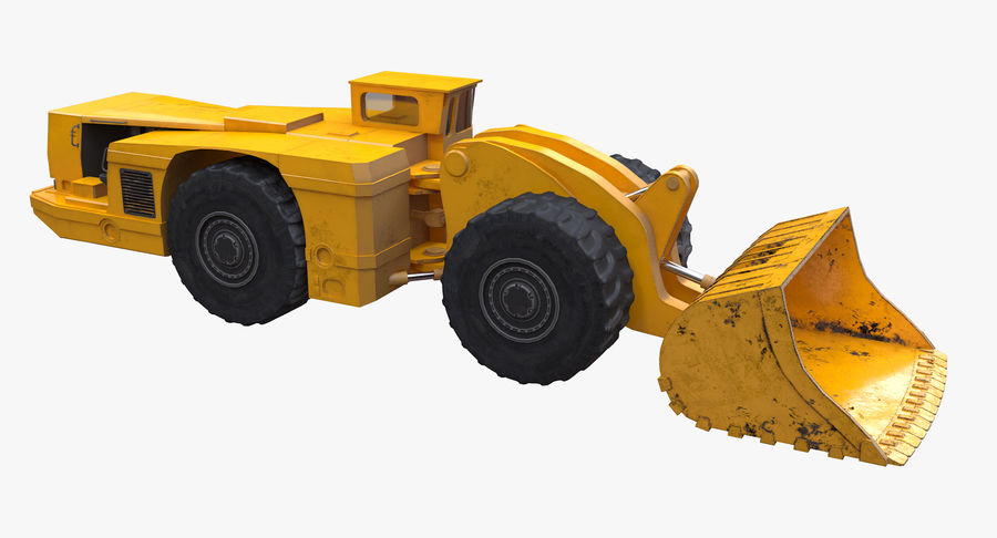 Underground Loader royalty-free 3d model - Preview no. 8