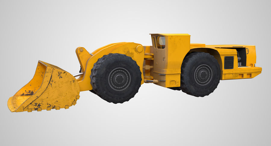 Underground Loader royalty-free 3d model - Preview no. 2
