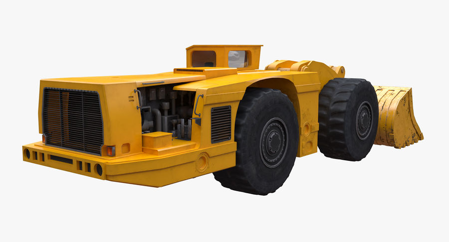 Underground Loader royalty-free 3d model - Preview no. 6