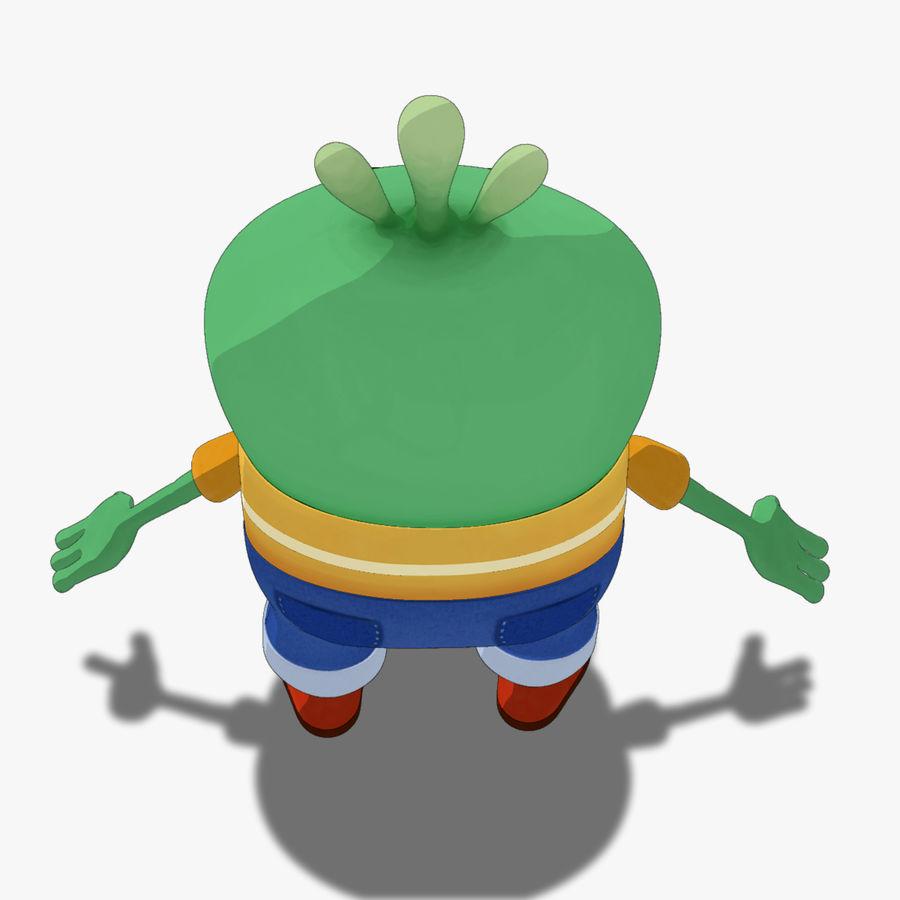 Низкополигональный, нестандартный персонаж royalty-free 3d model - Preview no. 6