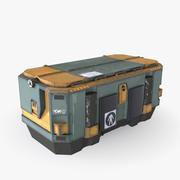 容器 3d model