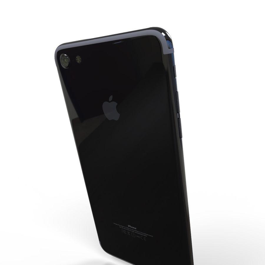 苹果手机7 royalty-free 3d model - Preview no. 4
