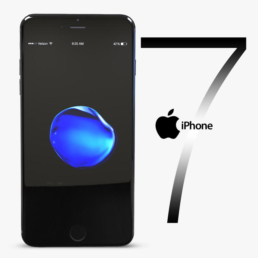 苹果手机7 royalty-free 3d model - Preview no. 1