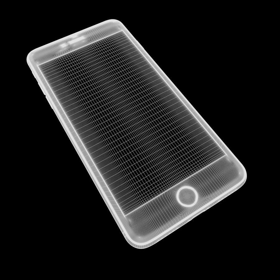 苹果手机7 royalty-free 3d model - Preview no. 10