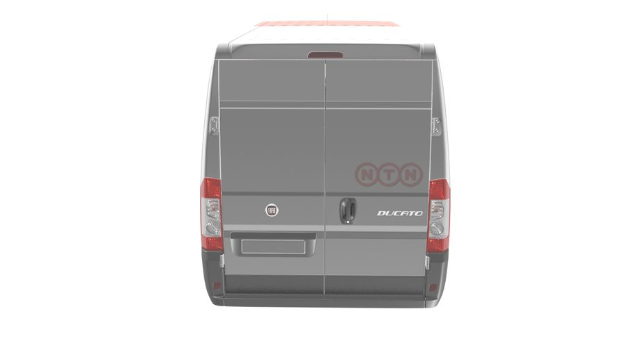 Fiat Ducato Dilivery Автомобиль royalty-free 3d model - Preview no. 4