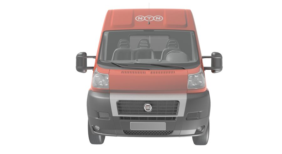 Fiat Ducato Dilivery Автомобиль royalty-free 3d model - Preview no. 8