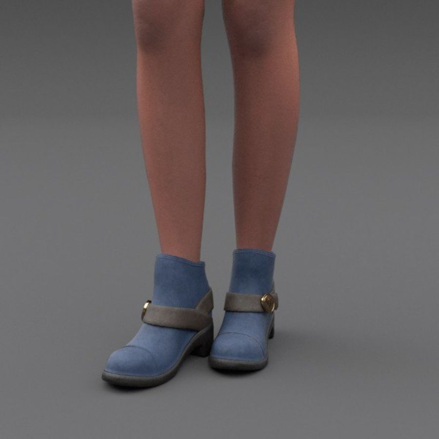 Female Fantasy Character royalty-free 3d model - Preview no. 15