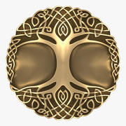 Celtic ornament - tree 3d model