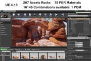 Risorse UE4 Rocks Stone 3d model