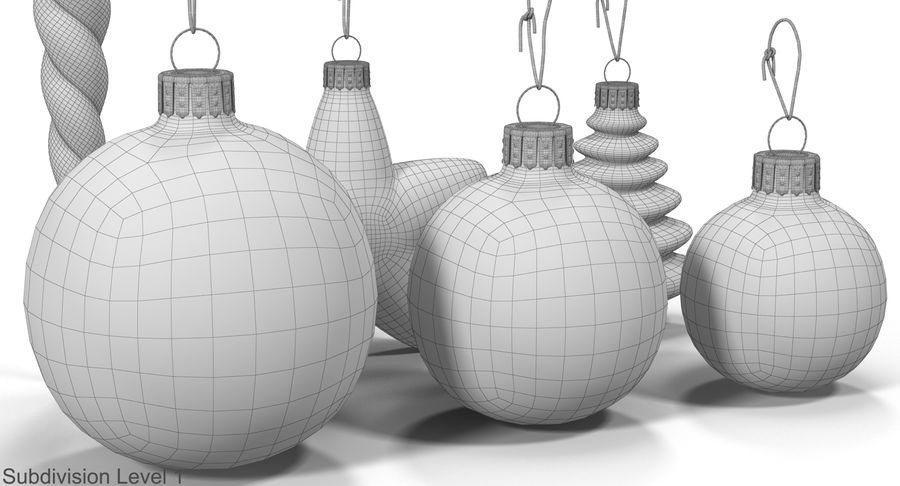 Christmas Toy Collection royalty-free 3d model - Preview no. 27