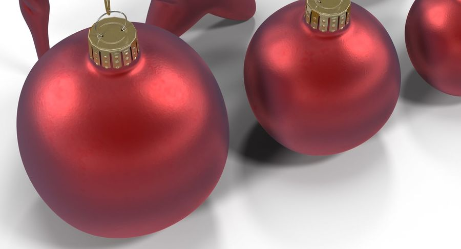 Christmas Toy Collection royalty-free 3d model - Preview no. 8