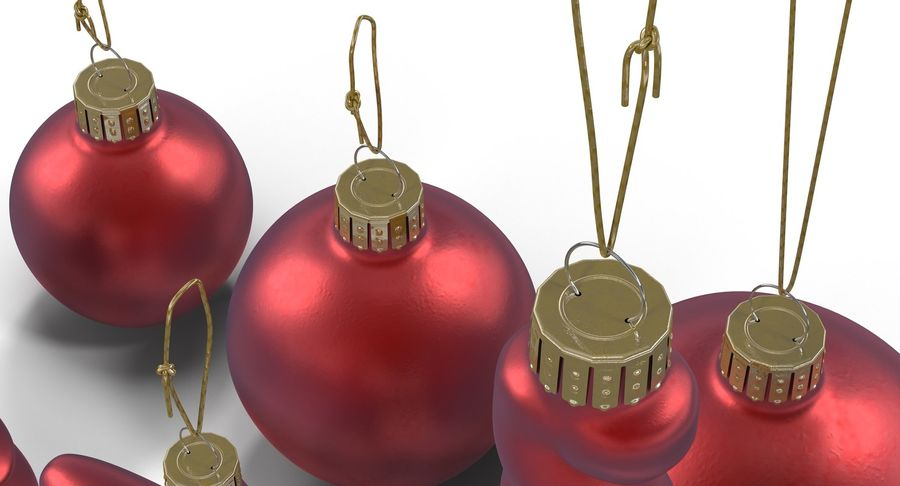 Christmas Toy Collection royalty-free 3d model - Preview no. 12