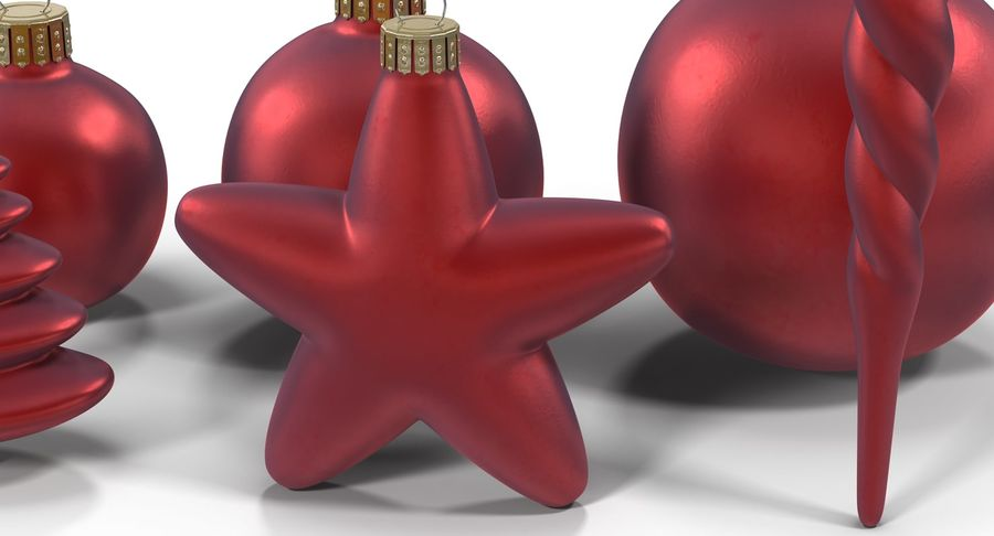 Christmas Toy Collection royalty-free 3d model - Preview no. 11