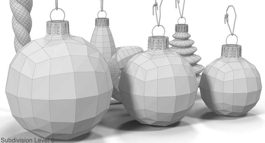 Christmas Toy Collection royalty-free 3d model - Preview no. 26