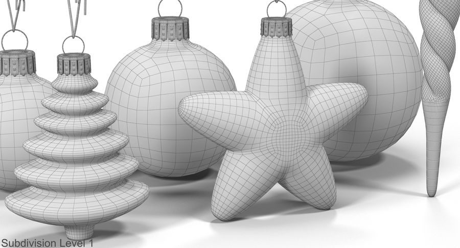 Christmas Toy Collection royalty-free 3d model - Preview no. 29