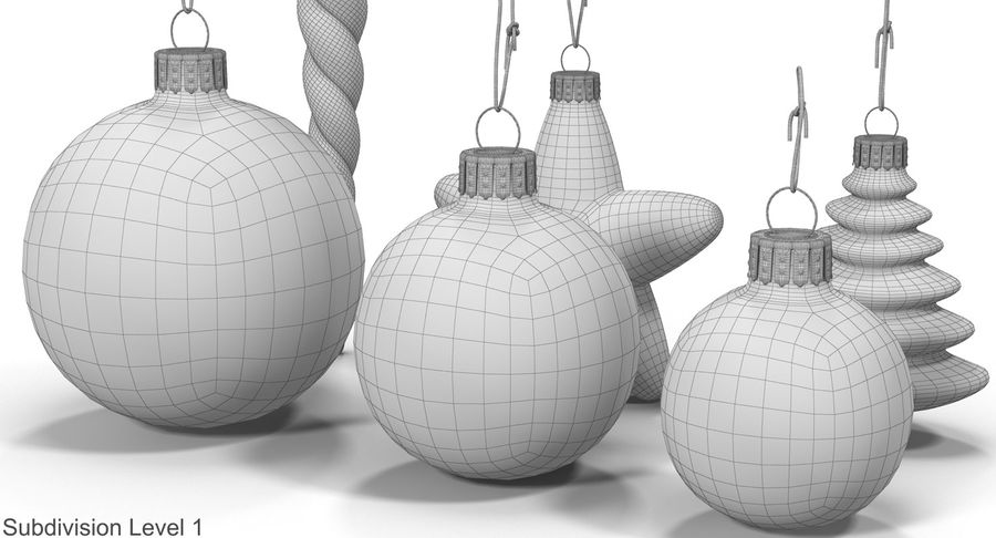Christmas Toy Collection royalty-free 3d model - Preview no. 25