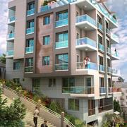 Apartament z Penthouse 3d model
