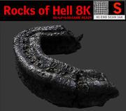 Rochas do Inferno 8K 3d model