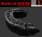 Rocks of Hell 8K 3d model