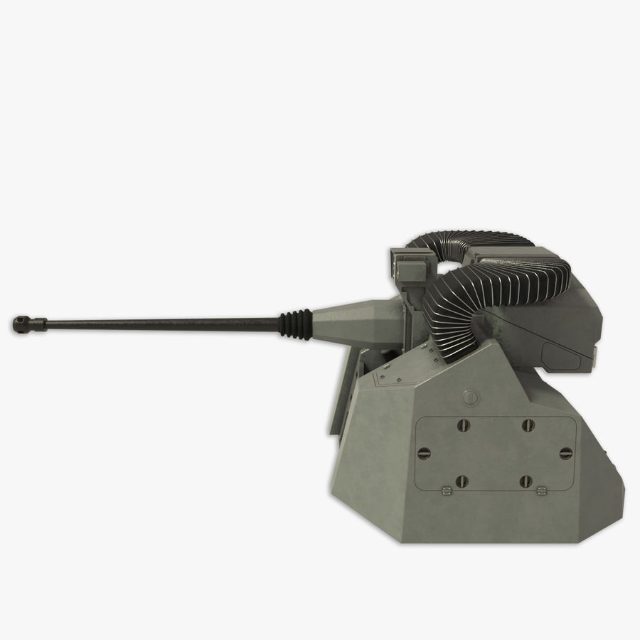 30MM Marlin WS snel marinegeweer royalty-free 3d model - Preview no. 7