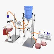 実験室試験 3d model