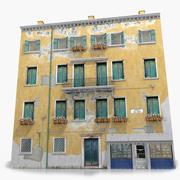 Venise vieille maison 2 3d model
