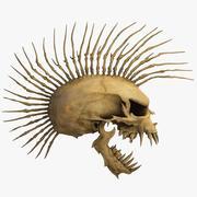 Punk Skull 3d model