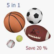 体育球集 3d model