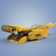 Continuous Miner CM 345 3d model