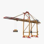 Container Crane v2 3d model