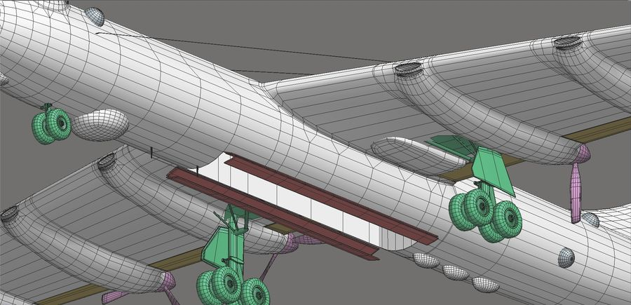 B36 Pacemaker royalty-free 3d model - Preview no. 21