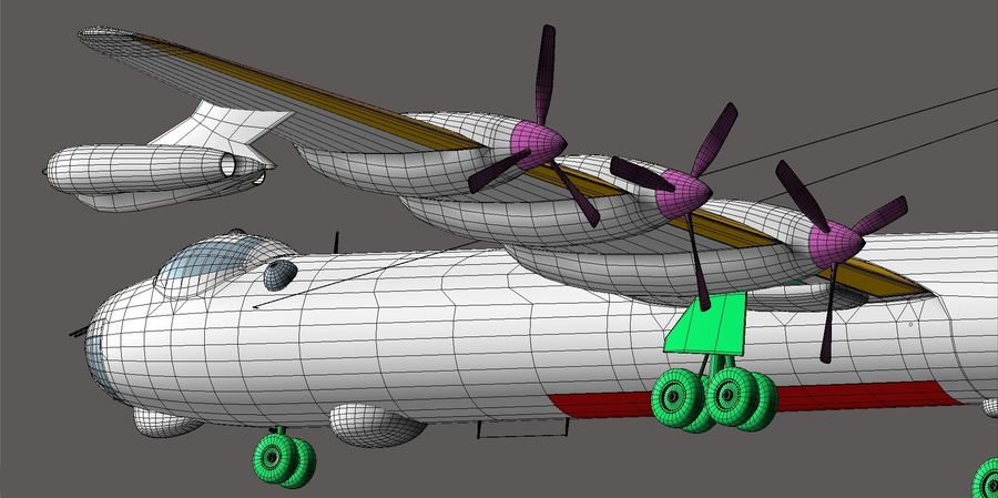 B36 Pacemaker royalty-free 3d model - Preview no. 23